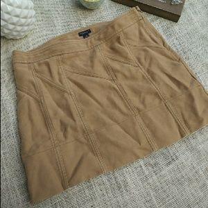 American Eagle Skirt Khaki